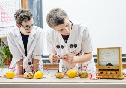 Științescu Jr., Sci-Fun (Sibiu). Foto: Gabriela Cuzepan